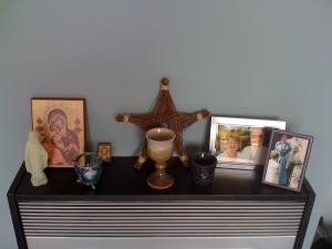 Syncretic altar