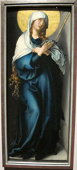 Albrecht Dürer's Mater Dolorosa, CC-BY-SA-3.0