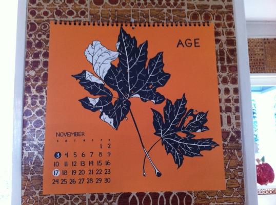 Olympia artist Niki McClure's calendar