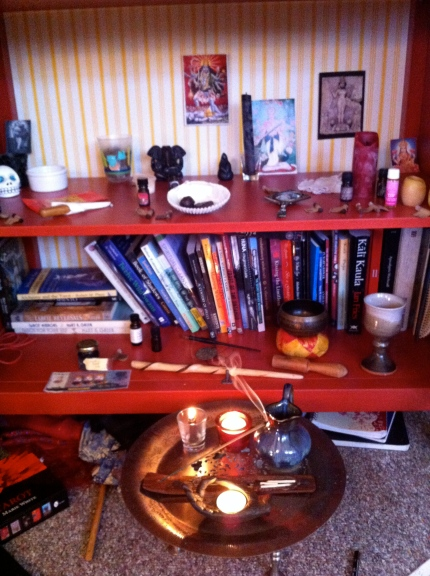 My altar this day