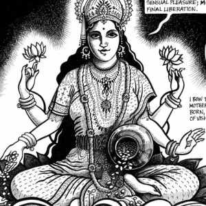 Lakshmi, from Kathleen Edwards' Holy Stars.